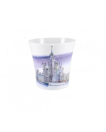 LOMONOSOV IMPERIAL PORCELAIN COFFEE LATTE HOT CHOCOLATE MUG MOSCOW FAMOUS HOUSE 360 ml/12.2 fl.oz