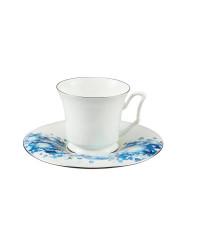 LOMONOSOV IMPERIAL BONE CHINA PORCELAIN ESPRESSO CUP YULIA WINTER 145 ml/10.1 fl.oz