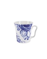 LOMONOSOV IMPERIAL PORCELAIN COFFEE HOT CHOCOLATE MUG AURORA GARDEN 360 Ml 12.2 Fl.Oz