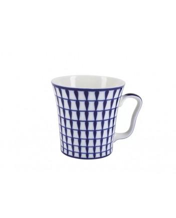 LOMONOSOV IMPERIAL PORCELAIN COFFEE HOT CHOCOLATE MUG AURORA CLASSIC 360 Ml 12.2 Fl.Oz
