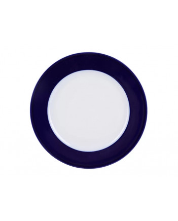 "LOMONOSOV IMPERIAL PORCELAIN DINNER PLATE AURORA NIGHT 27 cm 10.6"""