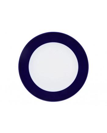 """LOMONOSOV IMPERIAL PORCELAIN DINNER SIDE PLATE AURORA NIGHT 21.5 cm 8.5"""""""
