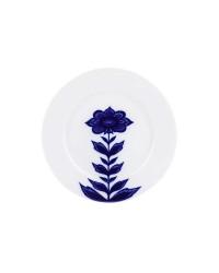 """LOMONOSOV IMPERIAL PORCELAIN DINNER SIDE PLATE AURORA FLEUR 21.5 cm 8.5"""""""