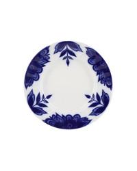 "LOMONOSOV IMPERIAL PORCELAIN DINNER DESSERT SALAD PLATE AURORA FLEUR 18 cm 7"""