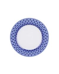 "LOMONOSOV IMPERIAL PORCELAIN DINNER PLATE AURORA OPENWORK 27 cm 10.6"""