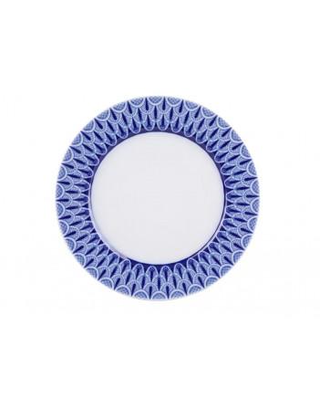 """LOMONOSOV IMPERIAL PORCELAIN DINNER SIDE PLATE AURORA OPENWORK 21.5 cm 8.5"""""""
