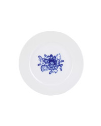"""LOMONOSOV IMPERIAL PORCELAIN DINNER SIDE PLATE AURORA GARDEN 21.5 cm 8.5"""""""