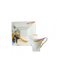LOMONOSOV IMPERIAL BONE CHINA PORCELAIN TEA CUP PETROPOL BALLET PERI 220 ml/7.4 fl.oz
