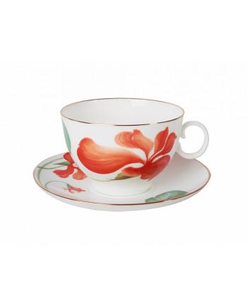 LOMONOSOV IMPERIAL BONE CHINA PORCELAIN TEA CUP APPLE ANITA 160 ml/5.4 fl.oz