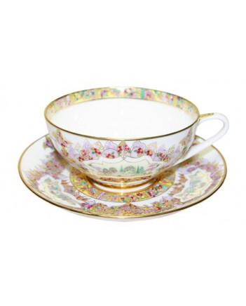 LOMONOSOV IMPERIAL BONE CHINA PORCELAIN TEA CUP DOME EDEN 300 ml/10.1 fl.oz