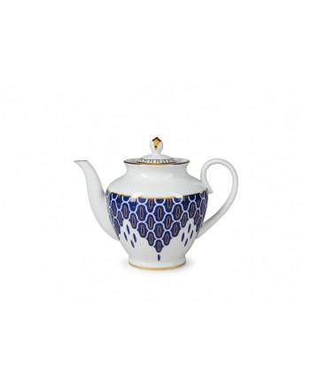 LOMONOSOV IMPERIAL PORCELAIN TEA SET SERVICE SPRING SALAMANDER 14 items
