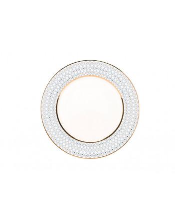 """LOMONOSOV IMPERIAL PORCELAIN DINNER PLATE AZURE v.1 SMOOTH 27 cm 10.6"""""""
