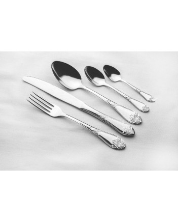 FLATWARE STAINLESS STEEL CUTLERY SET OF 24 PALACE