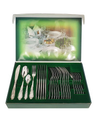 FLATWARE STAINLESS STEEL CUTLERY SET OF 24 GOVERNOR