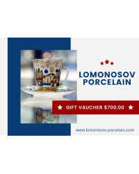 GIFT VAUCHER $700.00 LOMONOSOV IMPERIAL PORCLELAIN FACTORY