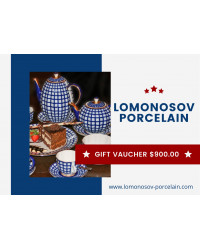 GIFT VAUCHER $900.00 LOMONOSOV IMPERIAL PORCLELAIN FACTORY